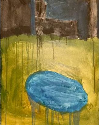 """""""Little Pond"""" by Aiden<BR>This artwork was submitted to our By Kids, For Kids art auction this spring. Click on the picture to see more wonderful submissions!"""